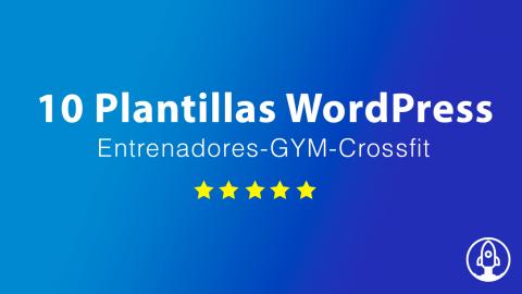 10 mejores plantillas wordpress para entrenadores personales
