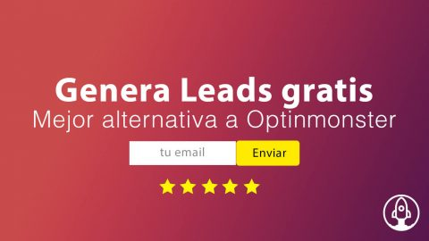 Mejor Alternativa gratuita a Optinmonster – Consigue Leads gratis